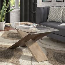 Marble Effect Coffee Tables Clear Acrylic Coffee Tables Allmodern