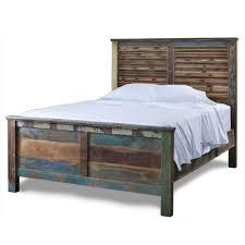 Rustic Bed Bed Frames Rustic Bed Frame With Storage Wood Platform Bed Frame