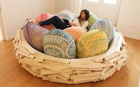 giant birdsnest bean bag lounger things i want to buy