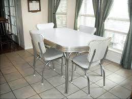 dining chairs retro chrome dining room set retro chrome and