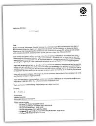 volkswagen group this is the apology letter vw sent to diesel owners and here u0027s