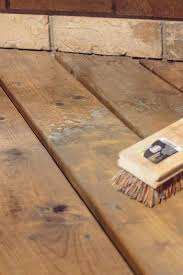 hdblogsquad how to clean u0026 stain a deck diy and crafts decks