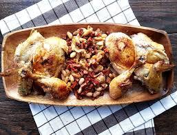 roast chicken with chorizo cherry on my sundae