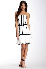 ds dress by debbie shuchat contrast bustier dress nordstrom rack