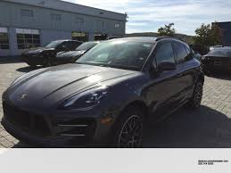 porsche cayenne matte grey new 2018 porsche macan turbo 400 hp