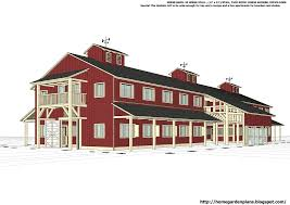 home garden plans h20b1 20 stall horse barn plans large horse