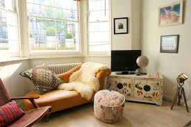 bay window folding chaise lounge eclectic with midcentury