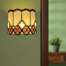 Glass Wall Sconce Battery Operated Wall Sconce In Style Glass Touch Of