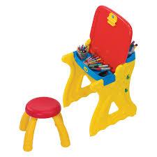 american plastic toys creativity desk and easel hayneedle