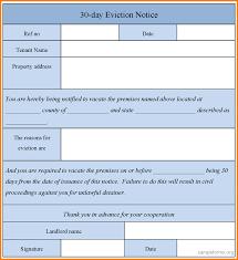 3 eviction notice template receipt templates