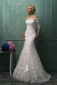 white lace wedding dress white lace trumpet strapless wedding dress with the shoulder