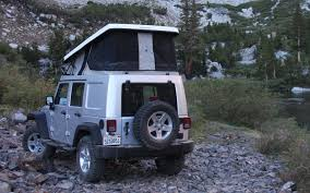 jeep bed in back ursa minor jeep wrangler first drive truck trend