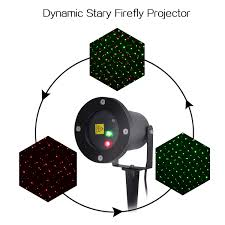 Firefly Laser Outdoor Lights by Red Green Dynamic Laser Light Show Outdoor Party Christmas Holiday