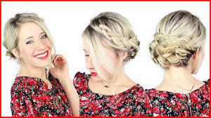 Simple But Elegant Hairstyles For Long Hair by How To Simple Braided Updo With Kenra Professional Youtube