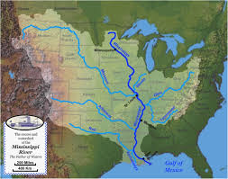 Ohio River On Us Map by The Mississippi River Valley U2013 Subratachak