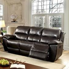 furniture of america modern power reclining sofa loveseat recliner