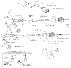 Old Shower Faucet Parts Moen Faucets Unique Moen Bathtub Faucet Parts Diagram Moen