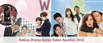 film korea rating terbaik peringkat rating drama korea bulan agustus 2016 review drama asia