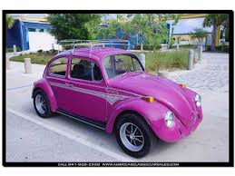 purple glitter car 1970 volkswagen beetle for sale on classiccars com