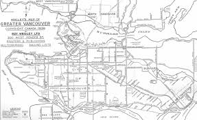 Lake Alan Henry Map The Buzzer Blog A Short History Of Interurbans In The Lower Mainland