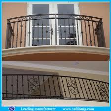 wrought iron balcony railing glass balcony railing aluminum