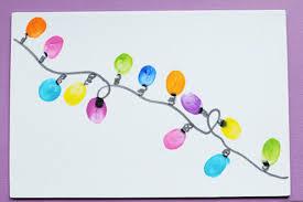 thumbprint diy lights crafts for pbs parents