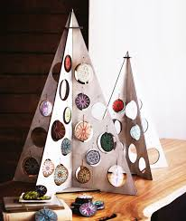 natale modern flat packed 26 tabletop silver tree kit