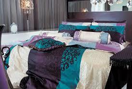 Tribal Pattern Comforter Duvet Elegant Purple And Orange Bedding Sets Infatuate Cheap