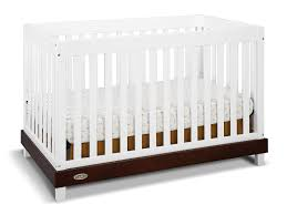 White Convertible Baby Crib Graco Maddox Convertible Crib White Espresso Baby