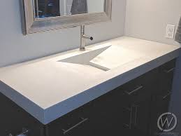 how to build a concrete sink awesome concrete sinks and bathrooms for texas customcretewerks inc