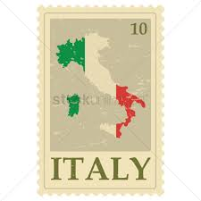 Provinces Of Italy Map Italy Map Postage Stamp Vector Image 1583591 Stockunlimited