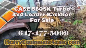 case 580 sk turbo 4x4 loader backhoe for sale toronto ontario