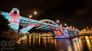 bridging the health gap indigenous artwork lights up brisbane nitv