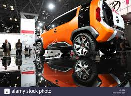 a toyota new york usa 12th apr 2017 a toyota ft 4x concept suv is seen