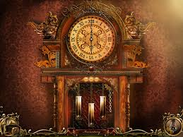 grandfather clock wallpaper