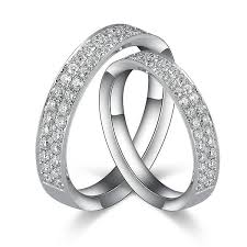 diamond couple rings images 1 carat diamond couples his and her rings bands jeenjewels jpg
