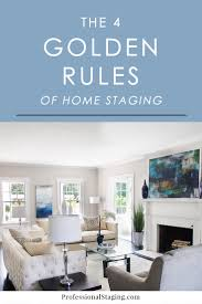 4 golden rules home staging