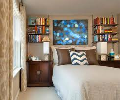 bedroom bedroom with bookshelves excellent on intended 15 ideas in