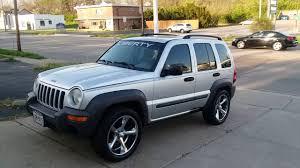 jeep liberty black rims jeep liberty 2003 on 20