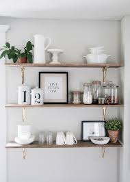 kitchen shelf decorating ideas 8 ways to style open shelving in the kitchen run to radiance