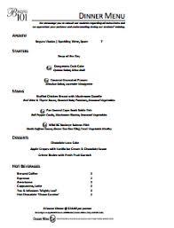 food menu template free download create edit fill and print