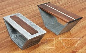 Concrete Side Table Concrete Coffee Tables You Can Buy Or Build Yourself