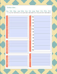excel templates daily planner daily schedule template excel