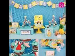 spongebob birthday party themes youtube