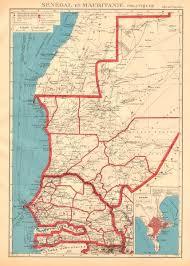 africa map senegal west africa senegal mauritanie mauritania dakar plan