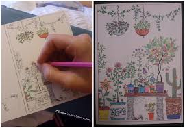secret garden colouring book postcards we re here three an hour