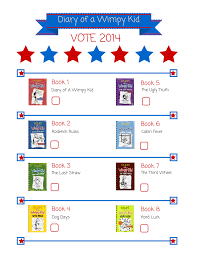 kids vote diary of a wimpy kid daland memorial library
