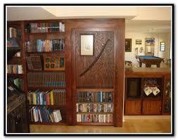 hidden bookcase door latch home design ideas