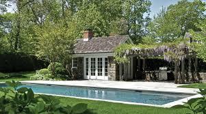 Poolhouse by Pool House East Hampton Landcape Details