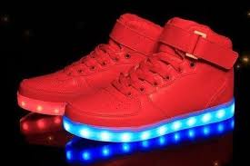 high top light up shoes high top led light up shoes for women red lighting shoes